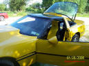 1988 Chevrolet Corvette Yellow coupe