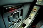 1991 Chevrolet Corvette, driver door panel