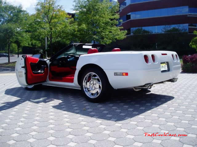 C4 Chevrolet Corvettes 1996 Models