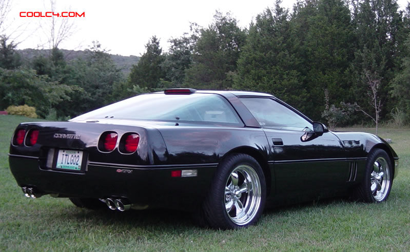 C4 Chevrolet Corvettes 1984 - 1996 L98, LT1, LT4, and LT5 engines, Americas Sport Car.